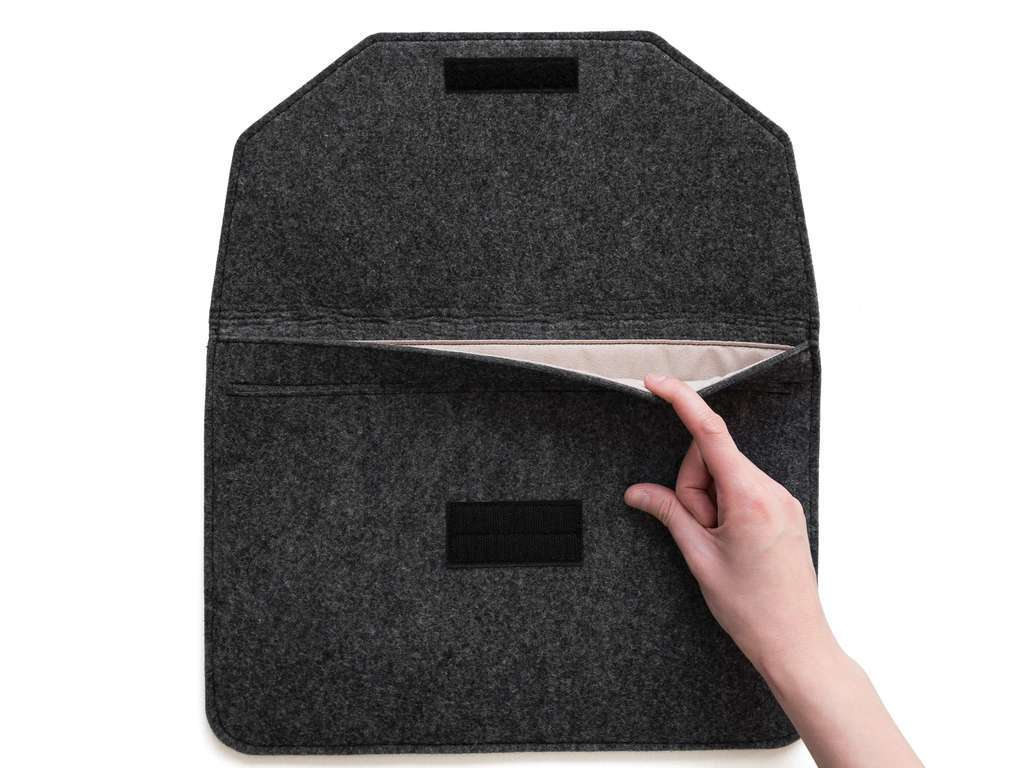 "ЧЕХОЛ ENVELOPE DARK GRAY 11"" (12"")"