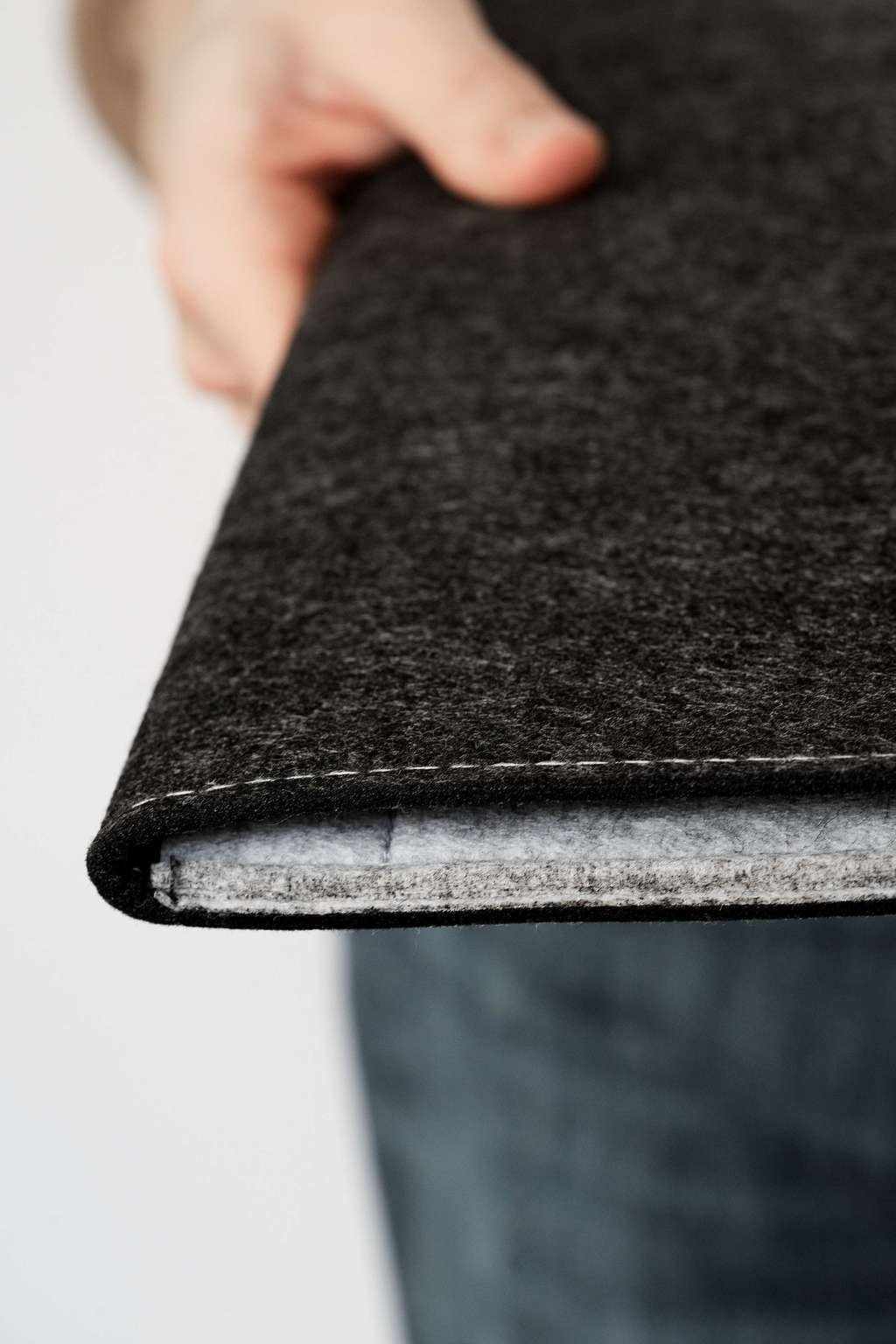 "ЧЕХОЛ ENVELOPE DOUBLE COLORED DARK GRAY 11"" (12"")"