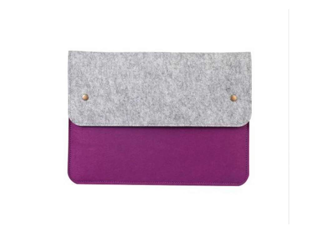 ЧЕХОЛ ENVELOPE DOUBLE COLORED PURPLE GRAY 13""