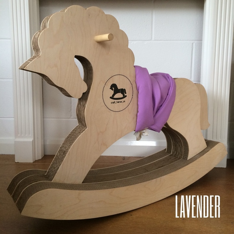 Saddle for rocking horse