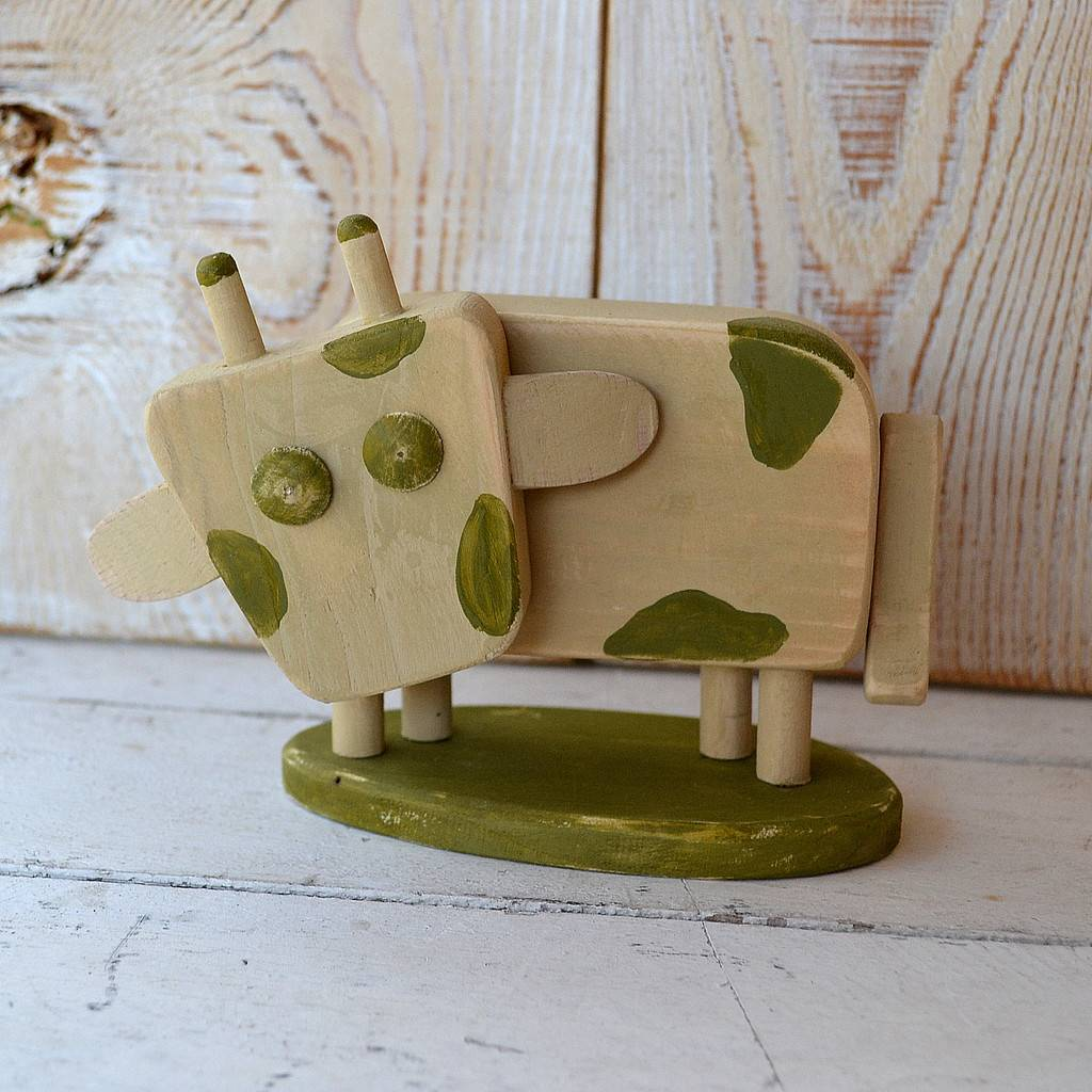 Cow Vintage - Christmas decoration, figure
