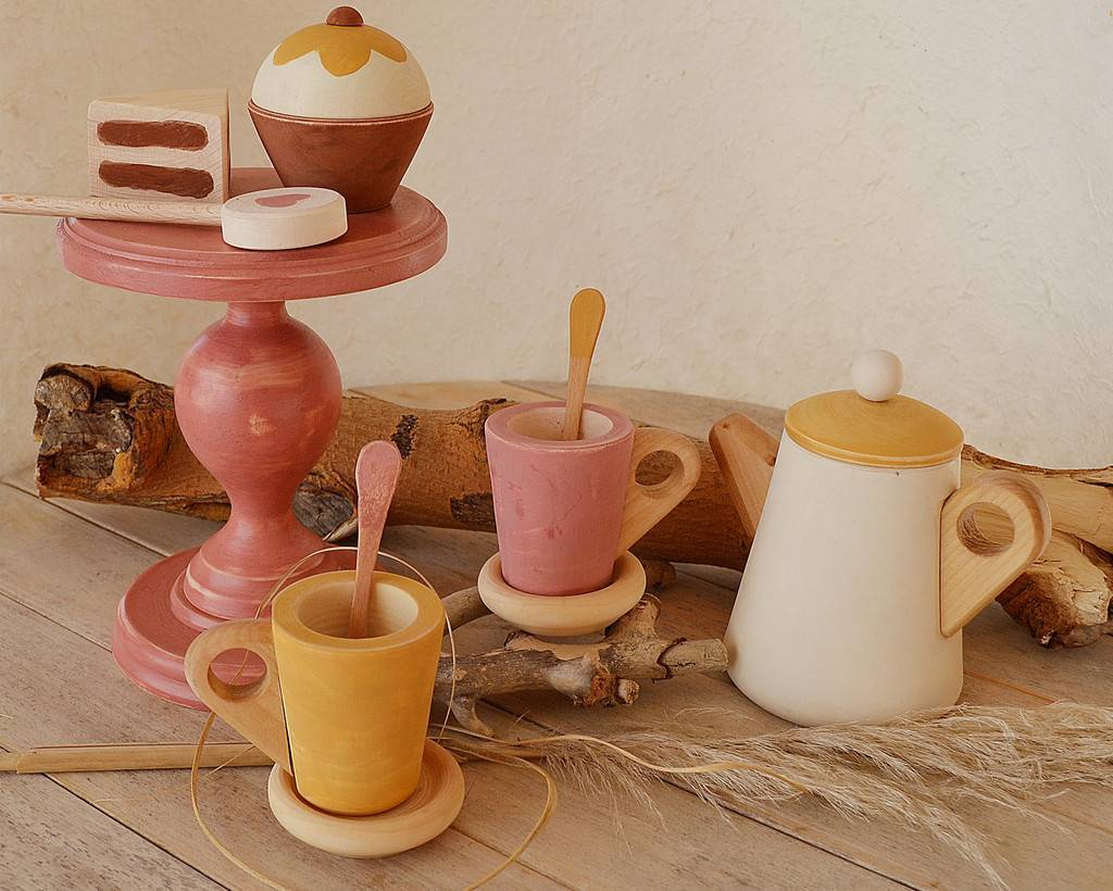 Tea set 3 + sweets